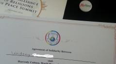 HWPL International Peace Summit in Korea!