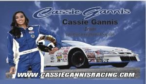 Cassie Gannis - Race Car Driver